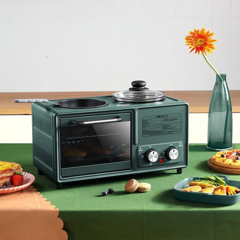 Frühstücksmaschine Multifunktionsfunktion Vier-in-One-Haushalt 8-Liter-Toaster-Fabrik Dreibettzimmer Frühstücksmaschine Bankgeschenk