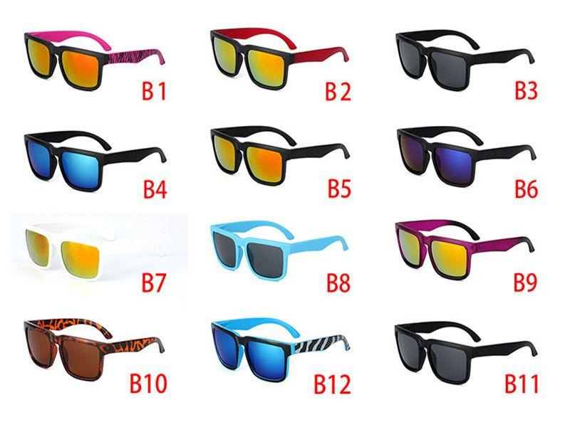 Promosyon En Moda Yeni Stil Ben Stilleri Güneş Erkekler Marka Tasarımcısı Güneş Gözlüğü Spor Gözlük Erkekler Gözlük 12 Renkler