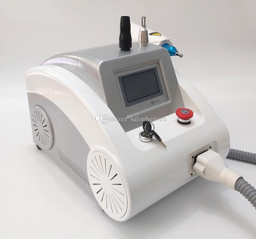 Q Switch Nd Yag Laser Tattoo Removal Beauty Machine 2000mj ND Yag 1064nm 532nm 1320nm Scar Acne Remover Pigments Removal With Touch Screen
