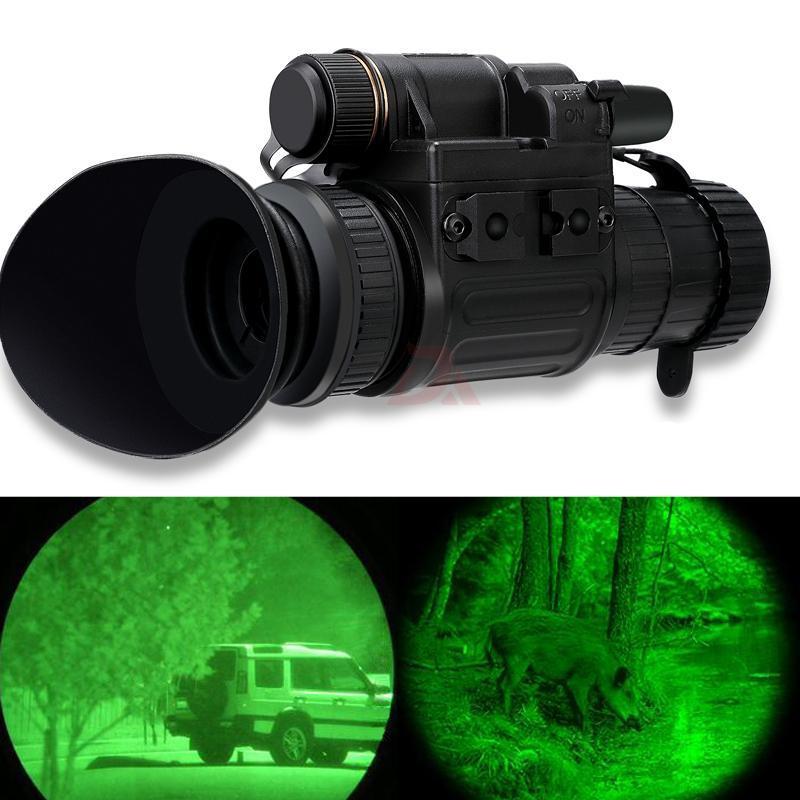 Casco Tipo Notte Viewer monoculare multi-funzione Low Light caccia Visore Notturno