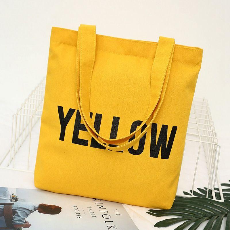 Сумка сумка простая хлопчатобумажная сумка женские женские горячие холст холст холст плечо покупки плечо досуга буквы портативный snakc