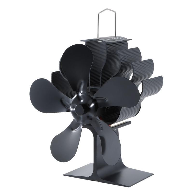 Şömine Fan Ahşap Yanan Gerçek Sıcak Güç Şömine Küçük Fan Enerji Tasarrufu Termal Güç
