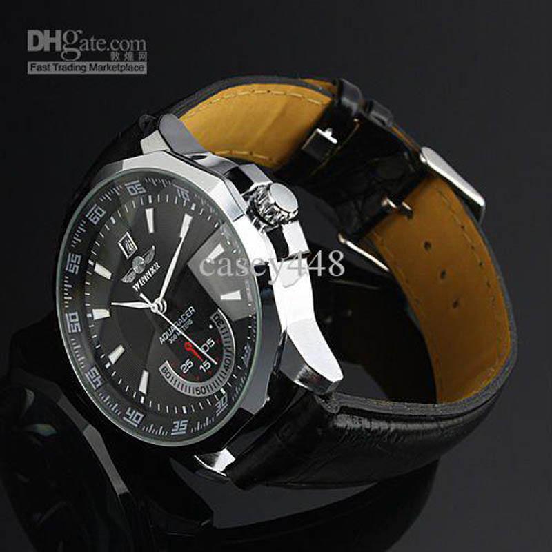 2021 Relogio Masculino Победитель Новые Мужские Автоматические механические Часы Кожаный Ремешок Часы Мода Спорт Мужчины Наручные часы