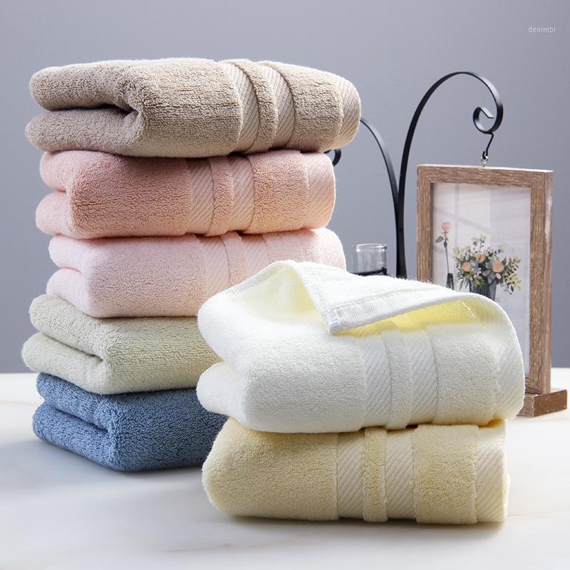 Asciugamano del viso del cotone del super morbido di cotone lunghi gratificato eccellente Asciugamano ad assorbimento dell'acqua1
