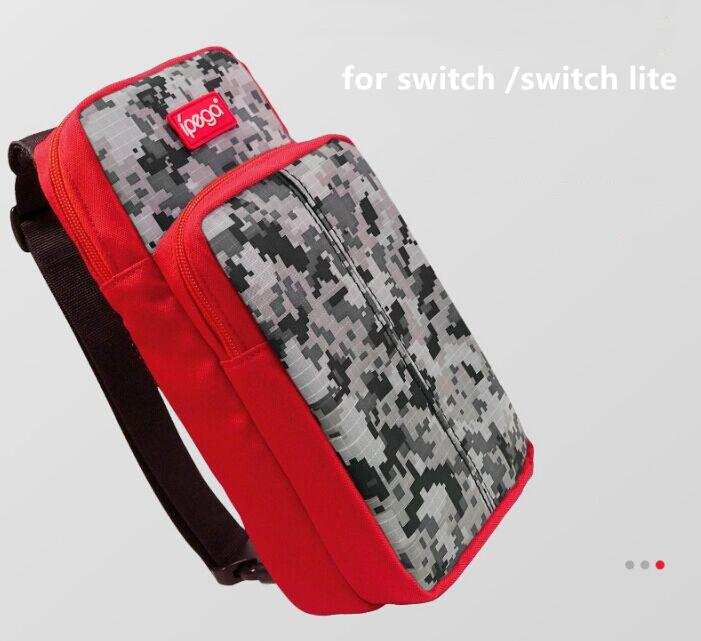Ipega Travel Carry Case Storage Crossbody Chest Bag Fit for Nintend Switch Lite Support Dropshipping