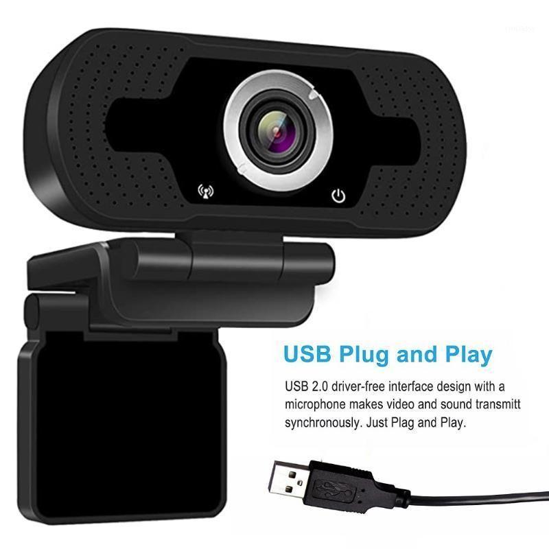 Webcams 1080p usb webcam câmera web embutida microfone estéreo computador completo full hd skype chamada de vídeo para pc laptop vive equipment1