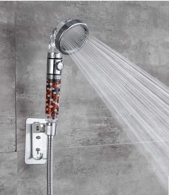 دش رئيس قابل للتعديل 3 وضع اليد دش ارتفاع ضغط توفير المياه زر واحد لرؤساء دش وقف المياه