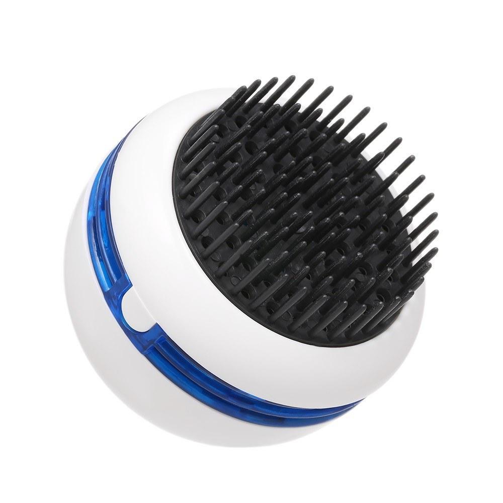 C Broquettes Coiffure Massager Shampooing Brosse Massage électrique Batterie exploitée avec vibration W11044