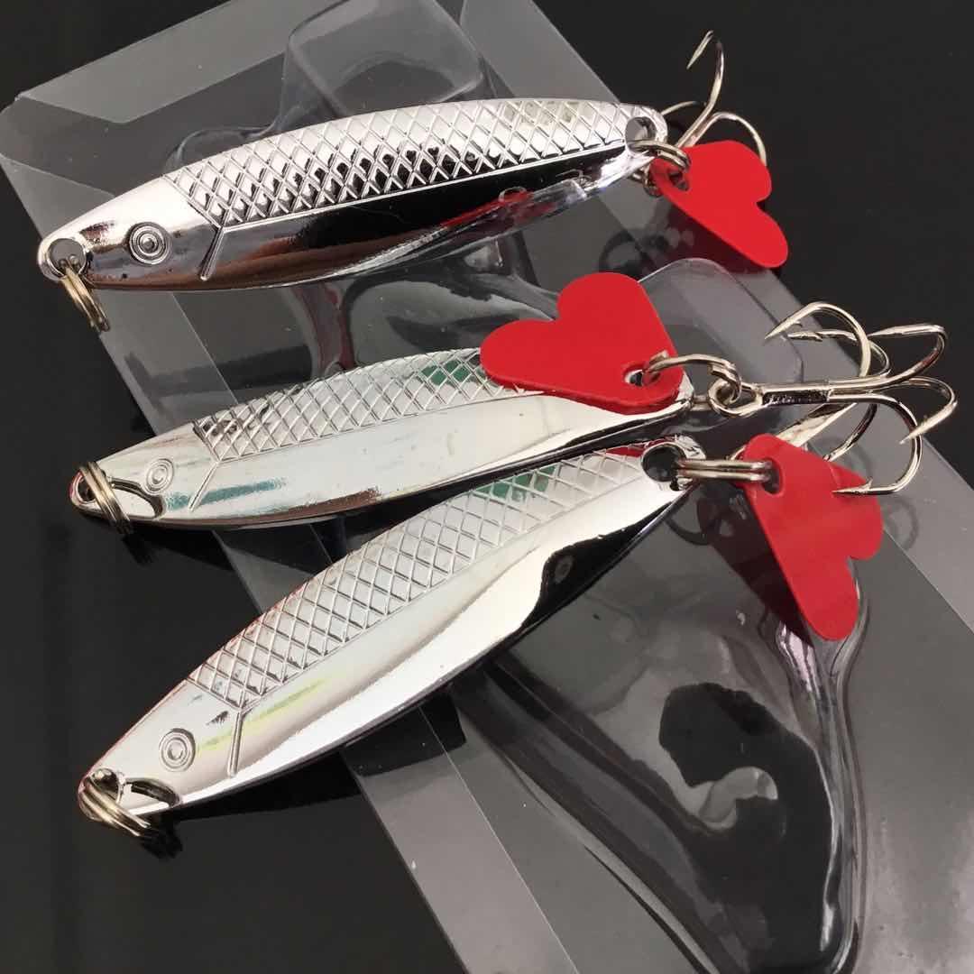 1pc VIB colheres de metal Iscas Lures 6CM 9.43G 6 # Fishing Hooks WL_146