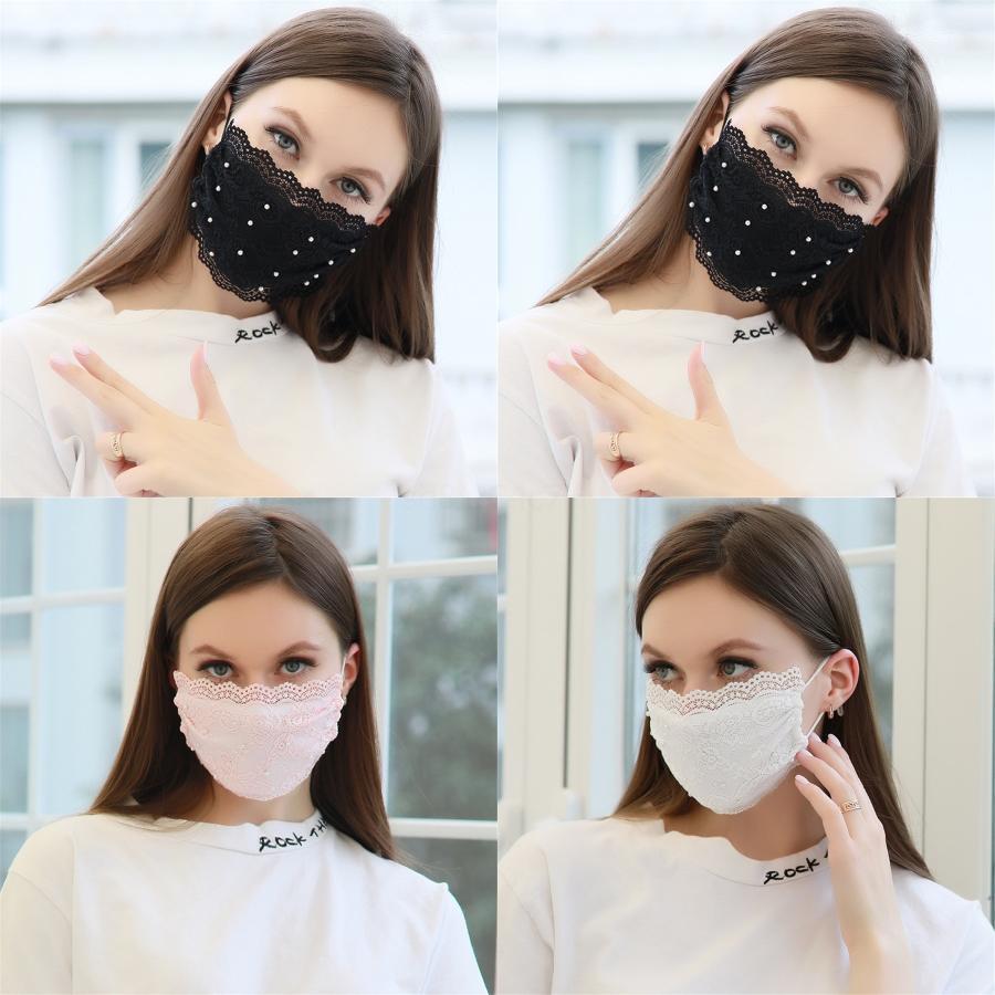 Prective Ice Шелковая маски для лица Mascherine Камуфляж Клубничных печатей Маски Reathable Рот Face # 819