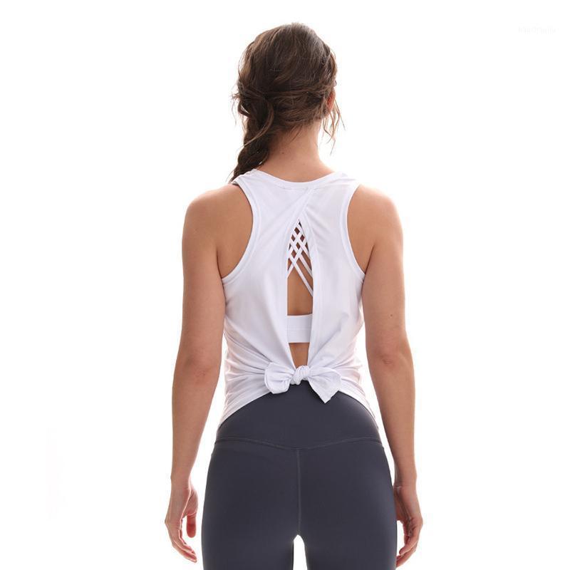 Yoga Weste Weibliche Kreuz Beauty Back Sports Shirt Laufen Fitness Sport Tank Top Sportkleidung Für Frauen Gym1