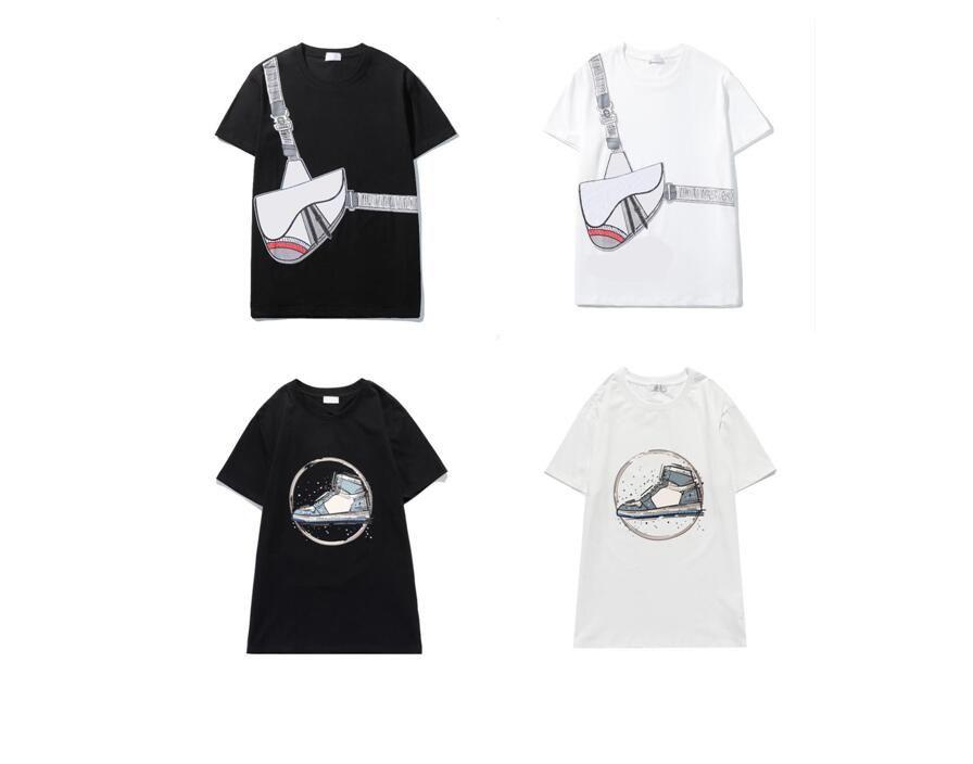 Camiseta de diseño para hombre Nueva venta caliente 4 camisas de estilo para hombre y mujer de manga corta redonda 100% algodón cuello