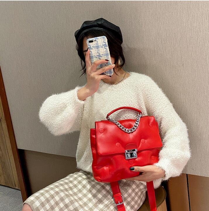 HBP Handtaschen Handtasche Frauen Damenkapazität Elegante hochwertige PU-Mode Neue Designer-Tasche Großes Leder One-Shoulder Messenger 2021 NNJV