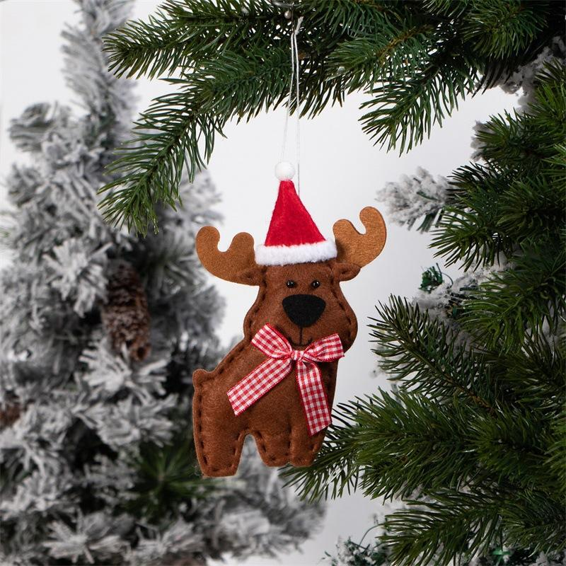 Fabricantes al por mayor nuevos encantos de Navidad alces, colgantes del árbol de navidad, renos, los modelos de Amazon vendedores calientes de adornos de Navidad