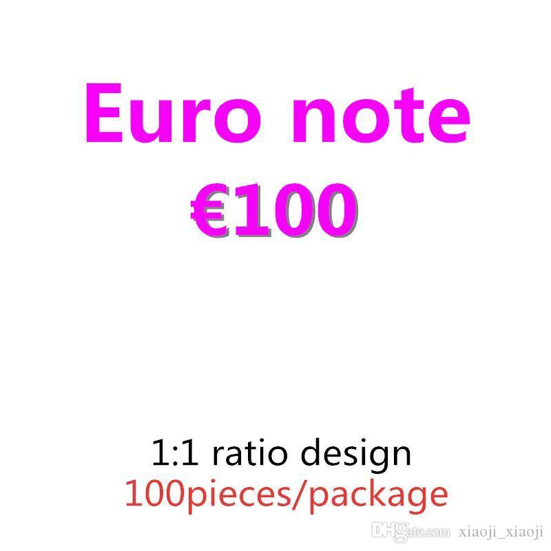 100 Film Bar Soldi PROP 50 Fake Billet 10 20 Billet Atmosfera Euro Faux Euro Euro Denaro Notte Nightclub Euro Play Soldi 08 WTHQR