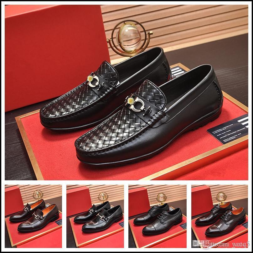 Q5 Classic Business MEN's DRESS Shoe FASHION Elegant Formal Wedding SHOES MEN Slip on Office OXFORD SHOES for MEN LUXURY MEN SHOES 22