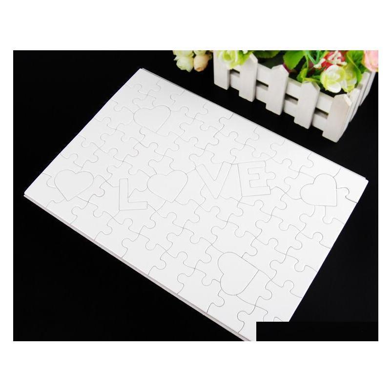 En blanco 120 A4 Transferencia de calor Presione New_Dhbest Pieces SQCazq Jigsaw con Puzzle Crafts Sublimation DIY OFF OOOAH ONOAH