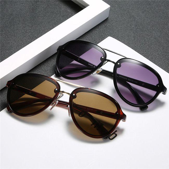 2020 neue Mode High-End Herren Womens Sonnenbrille Mode Europäische und Amerikanische Männer und Frauen Trend Sonnenbrille Paar Reise Straße Spiegel
