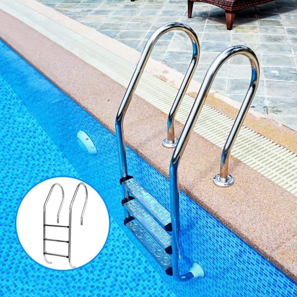 Natação gradiente piscina gradiente substituto de aço inoxidável anti-derrapante acessórios pedal acessórios para piscinas