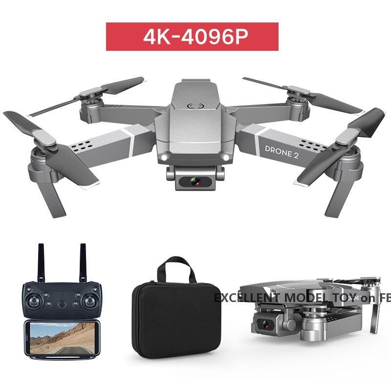 E68 4K HD-Kamera Wifi FPV Mini Anfänger Drohnen-Jungenspielzeug, Simulatoren, Track-Flug, einstellbare Geschwindigkeit, Höhenhold, Geste Foto Quadcopter, Weihnachtskind Geschenk, use