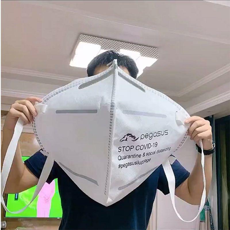 New Tide einzigartiges Design Kreative Maskenform-Schulter-Beutel mit hohen Kapazität Mode Umweltschutz Handtasche Kleideraufbewahrung Taschen Geschenke