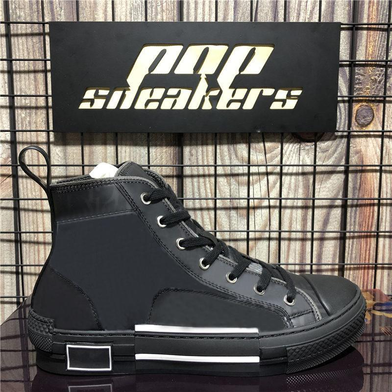 Top Quality Retro Canvas Moda Sneakers Vintage B23 High Low Top Obliques Luxurys Designer Shoes Shoes Womens Outdoor Platform Shoes Casual Scarpe