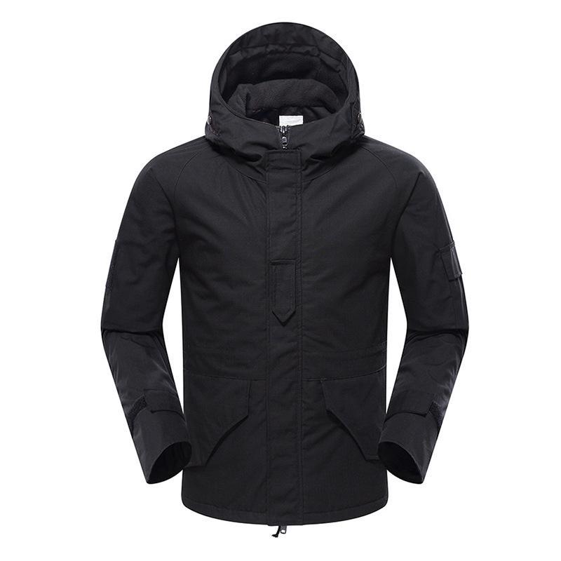 Inverno g8 camuflagem jaqueta tática masculina macho impermeável À prova d 'impermeável engrossar quente velo cambat casaco homens sobretudo
