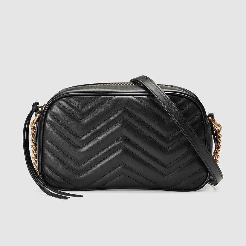 Crossbody Marmont Bag 2021 Body Bag Spalla Messenger Womens XBJ03 SOHO Pochette Borse Borse in pelle Cross Backpack Portafoglio FANNYPACK D ACTAQ