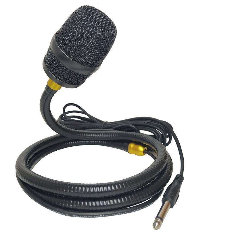 Criativa Microfone preguiçoso Hanging Pescoço Gooseneck Microfone Sem suporte necessário apresentação de canto de rua