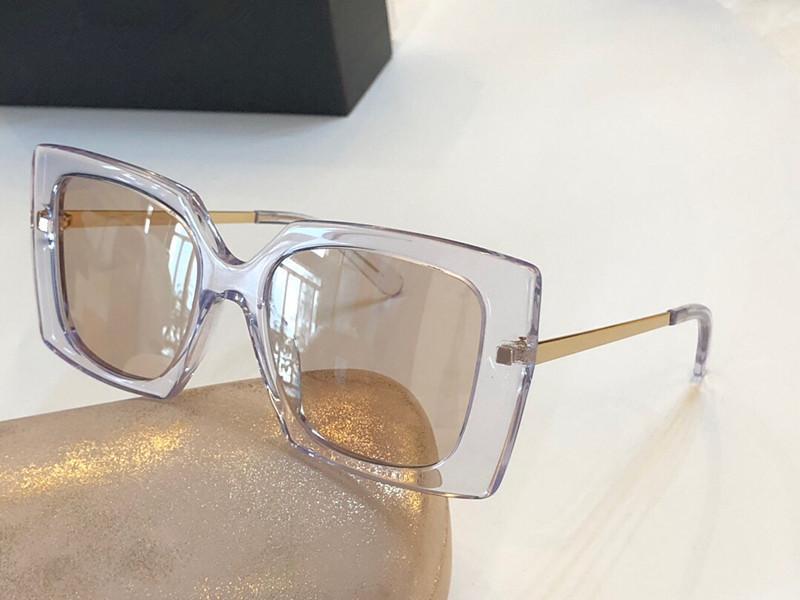 2020 Yeni tasarımcı moda Womens güneş gözlüğü 455.260 kare kare popüler cömert, zarif stili güneş UV koruması en kaliteli gözlük gözlük