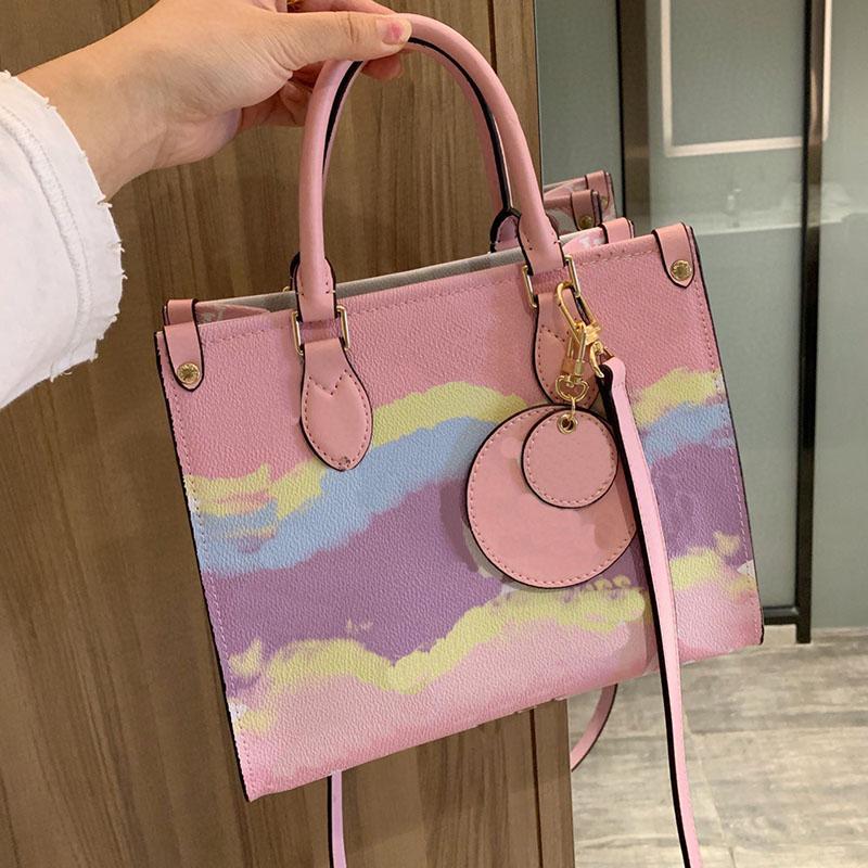 5A + High Shopping Bolsos de Crossbody Bolsas de Mensajero Messenger Bags Boutique Bag Women Calidad Bolsa Clásica Hombro Hombro Alto 26 * 16cm SDSUU