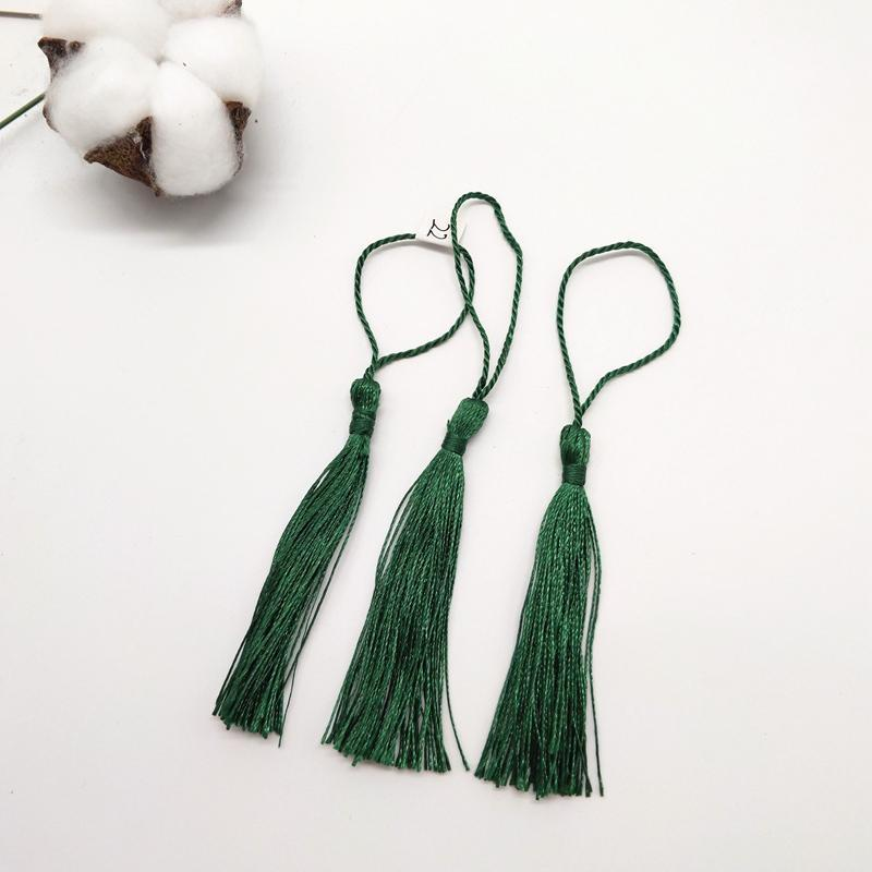 100pcs lot 7cm Tassel Silk Fringe Couture 22Couleurs disponibles Tassels décoratifs pour rideaux Home Feuilles Accessoires de décoration H Jlldak