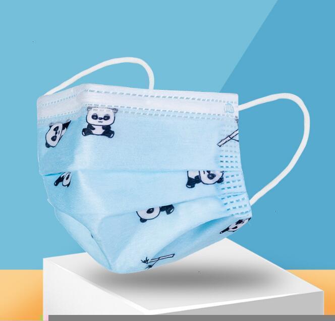 Designer Cartoon Enfant Masques Enfants Mode Visage Enfants 3 couches jetables Masque de protection pour enfants bouche Dhl gratuit