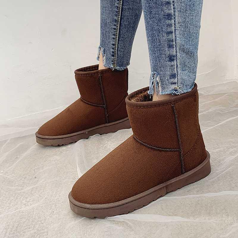 Stivaletti per le donne con tacchi medio stivali da donna gregge nero / marrone / blu / caffè inverno