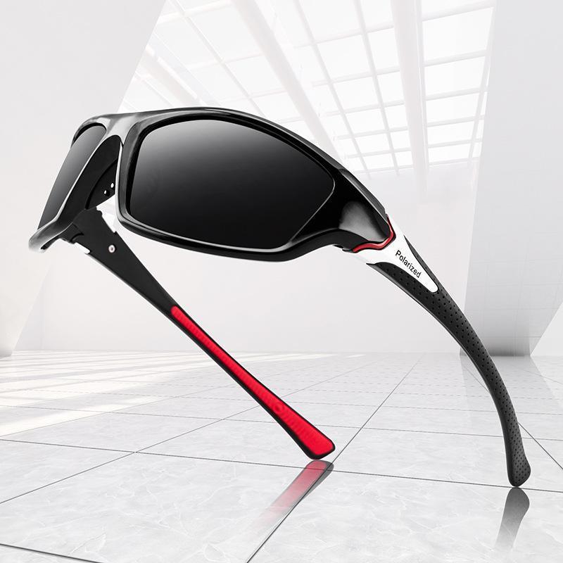 2021 Солнцезащитные очки Люкс Поляризованные мужские Классические Ретро Мода Путешествия Рыбалка Открытый Спортивный Ветрозащитный Взрывозащищенные аксессуары