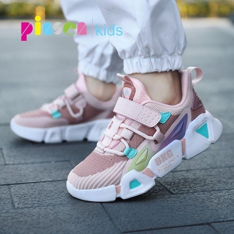 Весенние бренд детские кроссовки для девочек обувь для девочек мальчики случайные детские спортивные туфли для девушки бегущий детская обувь Chaussure Enfant 201130