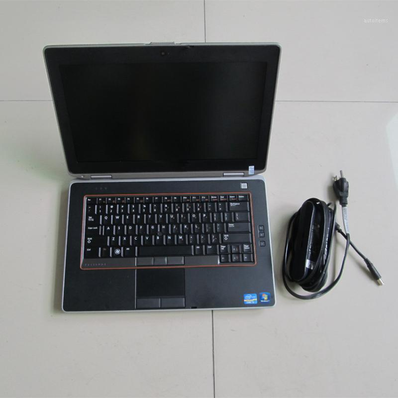 Dell E6420 4G 용 자동차 진단 노트북 MB Star C4 C5 ICom1에 대 한 HDD 작동하지 않고 배터리 초침없이