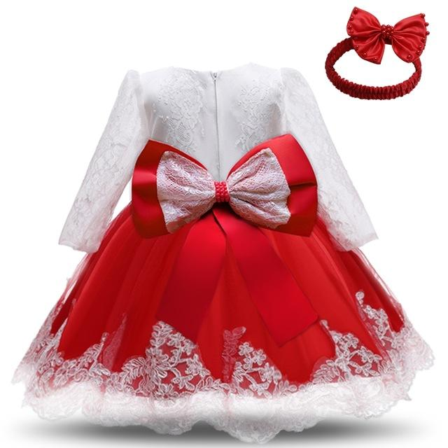 Mädchen Geburtstagskleid für Baby Weihnachten Babymädchen Taufe Kleider 1 2 Jahre alt Baby Geburtstagsfeier Vestido Kleinkind Outfits