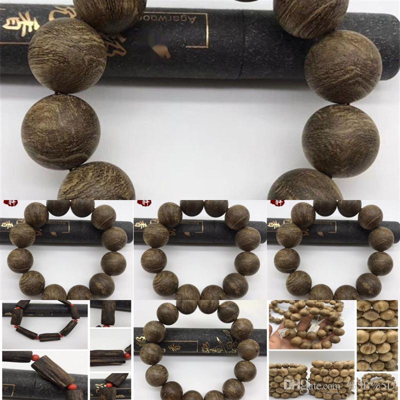 Jogrnatural pulseira de pedra corda de moda india ch_dhgate homens den Dena seu frisado bralet wrapwomen onyx pulseiras artesanais