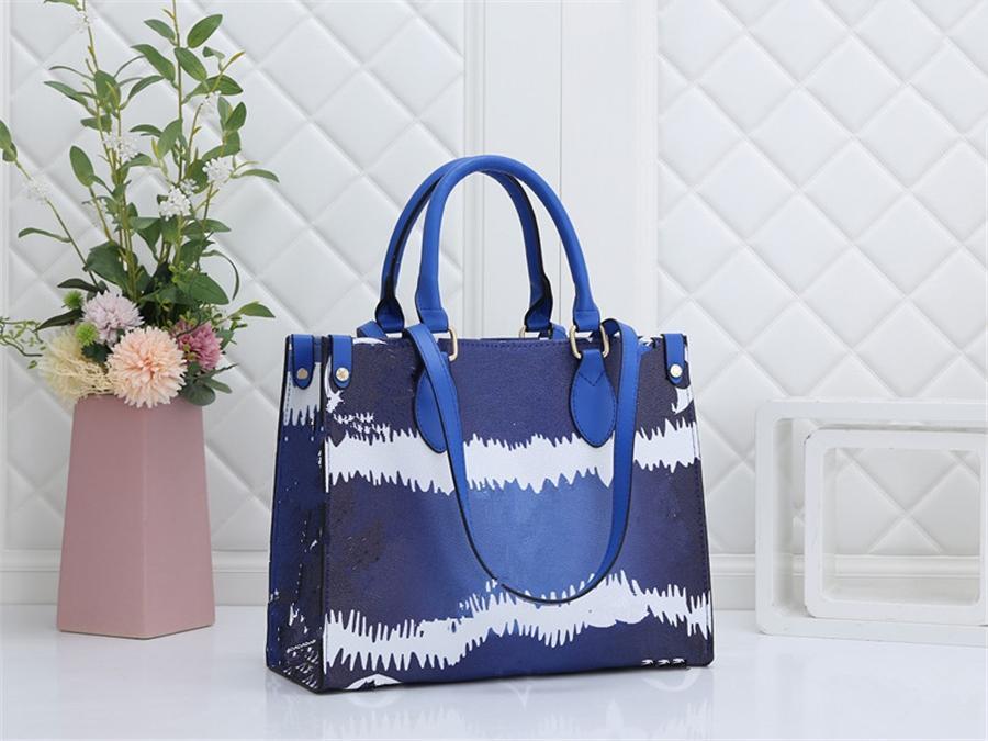 Haut qualicolor classique imprimé nuage sac à main sac à bandoulière chaude sac de sacs de sacs de sacs de sloges # 13 # 36466666