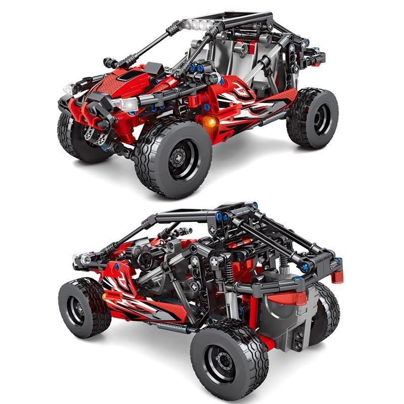 Sembo 402pcs Speed Beach Buggy Off-road Car Building Blocks City Speed Sports Car Technic Ideas Blocks Sand Vehicles Diy Toys sqcSKe