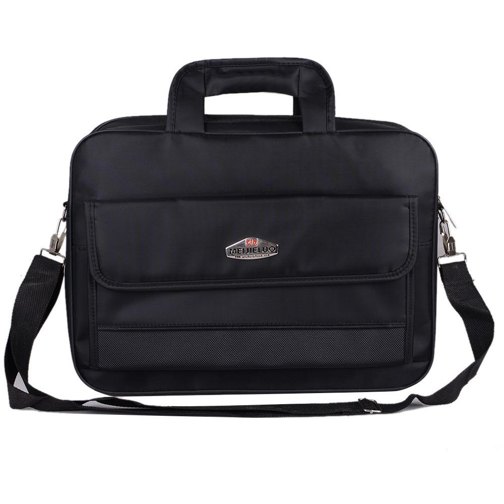 2020 cheap 15.6 inch Waterproof Nylon Men Bag Travel Suitcase Business Laptop Men's Briefcase Bolsa Masculina Q0112