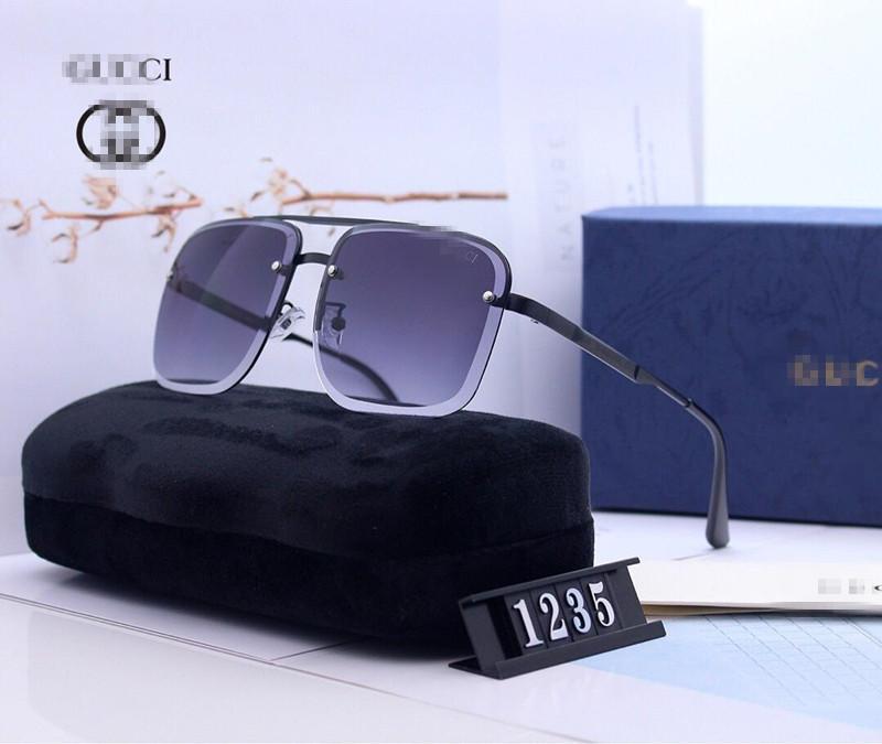 Gafas de sol Gafas de sol caliente del color del remache unisex gafas de sol retro punk Geek Estilo Claro vidrios de la lente OOA4808