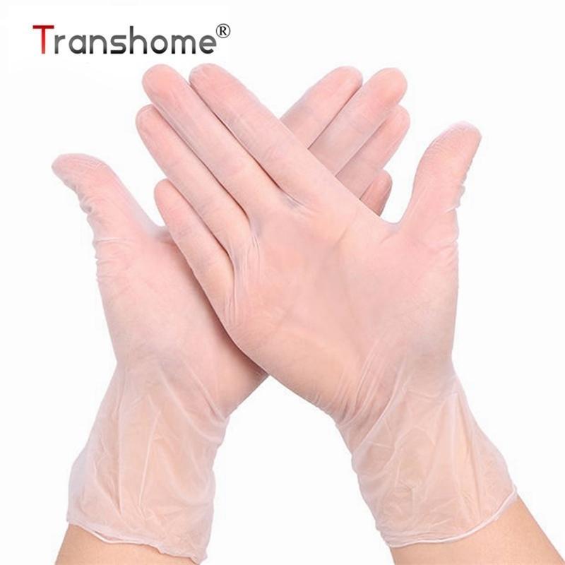 Dropshipping Food Grade Wegwerf Nitrilhandschuhe 100 stücke Latex Handschuhe für Lebensmittelreinigung Kochrestaurant Küche Zubehör 201207
