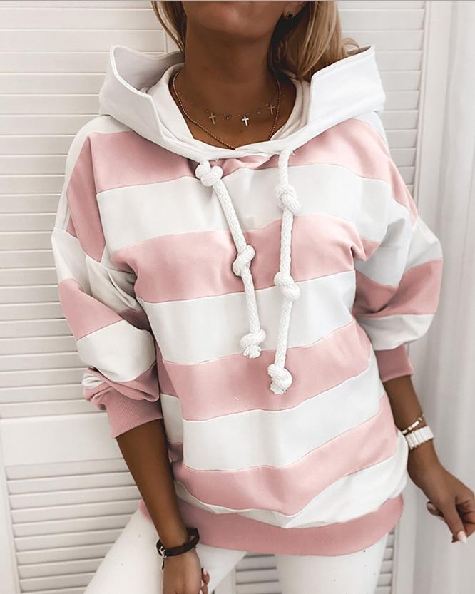 Kadın Heartbeat İyi görünümlü Hoodie İlkbahar ve Sonbahar Moda Amerika ve Avrupa Kazak Hoodie Günlük Sade Gömlek Hoodie S-2XL