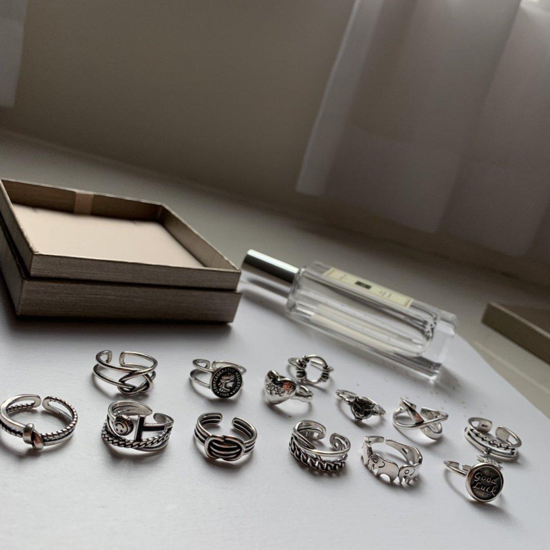 Tasarımcı Bayanlar 925 gümüş düğün takı Sevgiliye moda sıcak iyi 2020 Yeni gündelik çekicilik 4TC7 tavsiye halkalar