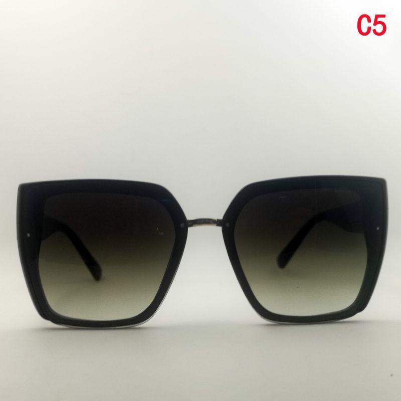 Lunettes haute lunettes de soleil femmes de désentatrice uv400ful rectangle vert adulte mode adulte de la qualité de sol Gafas Dis? Ador Cadre Design MFPM