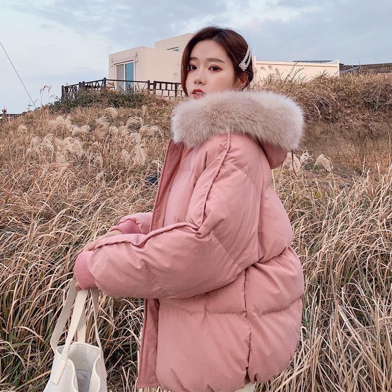 In stile coreano Jacket cotone sciolto Giù cappotto invernale Breve Cotton-Padded abiti femminili di spessore trapuntato panno di cotone invernale cappotto C1108