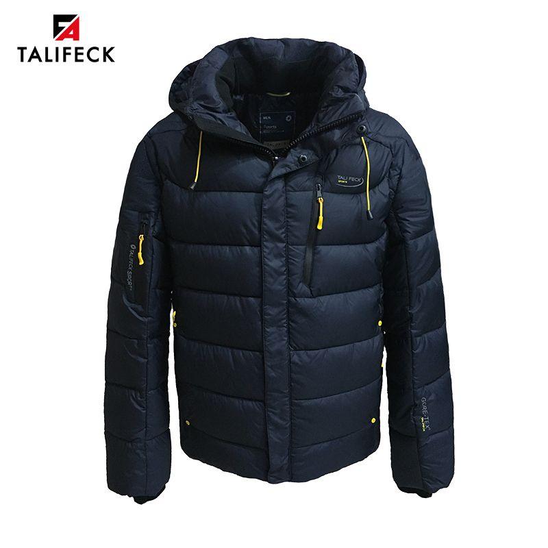 2020 Erkekler Kış Yastıklı Ceket Ceket Parka Homme Dış Giyim Kalın Sıcak Kış Ceketler Yüksek Kalite Marka Kış Ceket Erkekler Rus Boyutu LJ201029