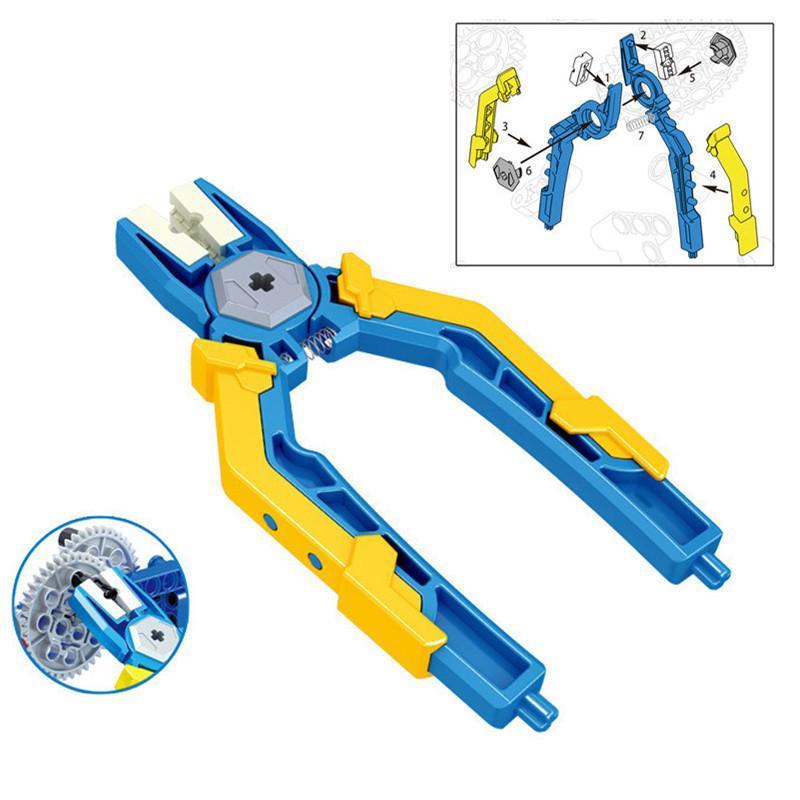 Demolição de blocos Define Technic Series Pin Alicates Tongs Ferramenta Painel Peças Pin remoção de construção Bricks Educacional Diy Kids Brinquedos bbyPxz